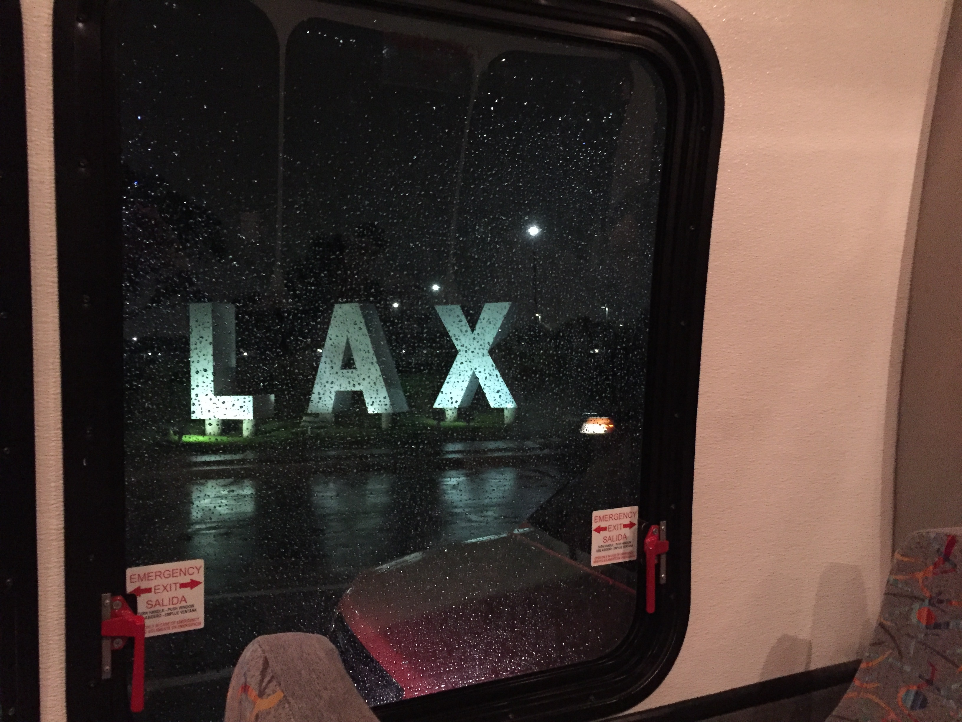 珍道中 at LAX(サンフランシスコ旅2日目)