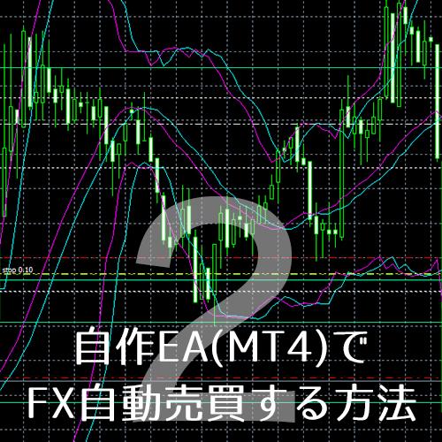 MT4で取引できるFX口座を開設[自作EA(MT4)でFX自動売買する方法#2]